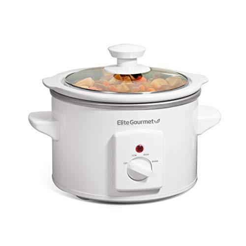 Elite Gourmet MST-250XW Cocina lenta eléctrica con temperatura ajustable,...