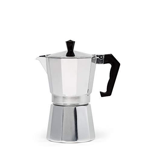 Primula - Cafetera espresso de aluminio para café expreso de cuerpo completo -...
