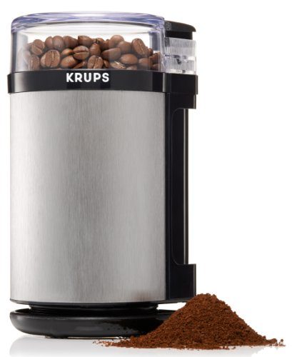 KRUPS GX4100 Electric Spice Herbs and Coffee Grinder with Stainless Steel Blades...