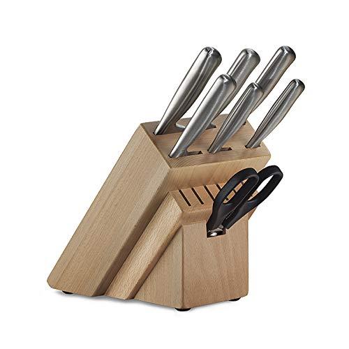 Set de Cuchillos Chef de Acero Inox Satinado 8Pzs Tramontina