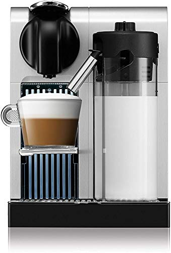 Cafetera Nespresso Lattissima Pro, Color Plata (Incluye obsequio de 14 cápsulas...