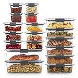 Rubbermaid 2108389 Brilliance Storage - Juego de 44 tapas de plástico sin BPA,...