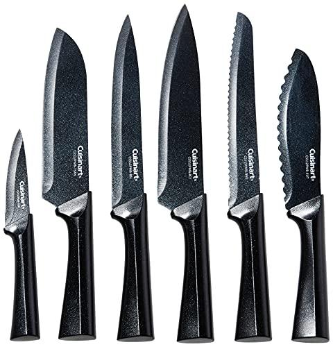 Cuisinart C55-12PMB Advantage - Juego de cuchillos metálicos (12 piezas, con...