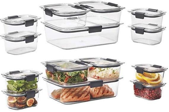 contenedores de comida
