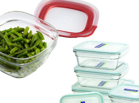 recipientes para el horno de microondas