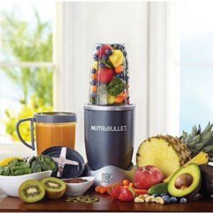 El mejor procesador de alimentos se llama Nutribullet