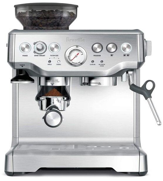 La mejor cafetera express ¿cuál comprar? Modelo BES870XL