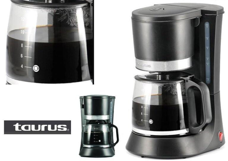 cafetera taurus caffeemax 12 tazas