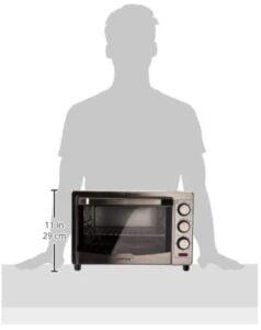 dimensiones del horno tostador Koblenz 24 litros