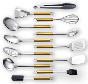 cucharones de acero inoxidable