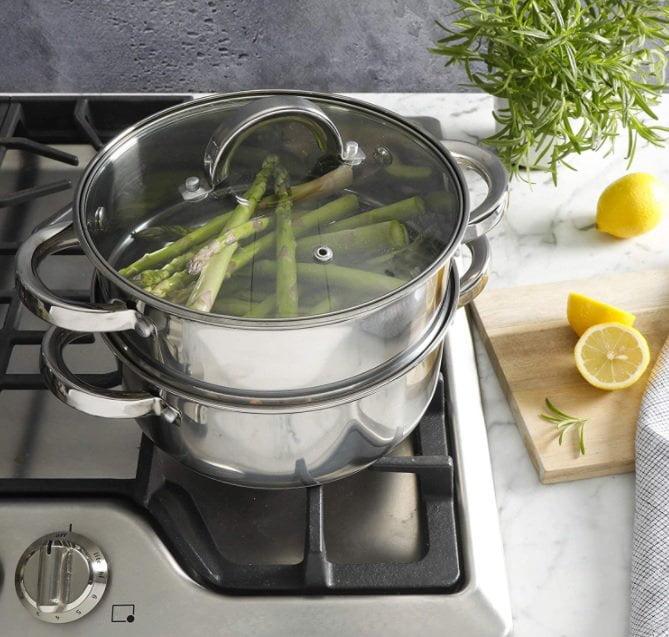 tipos de ollas para cocinar saludable